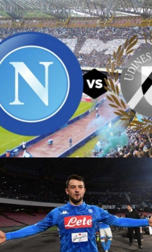 Napoli-Udinese, formazioni ufficiali, Younes parte titolare
