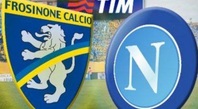 Domenica il Napoli può mandare in B il Frosinone