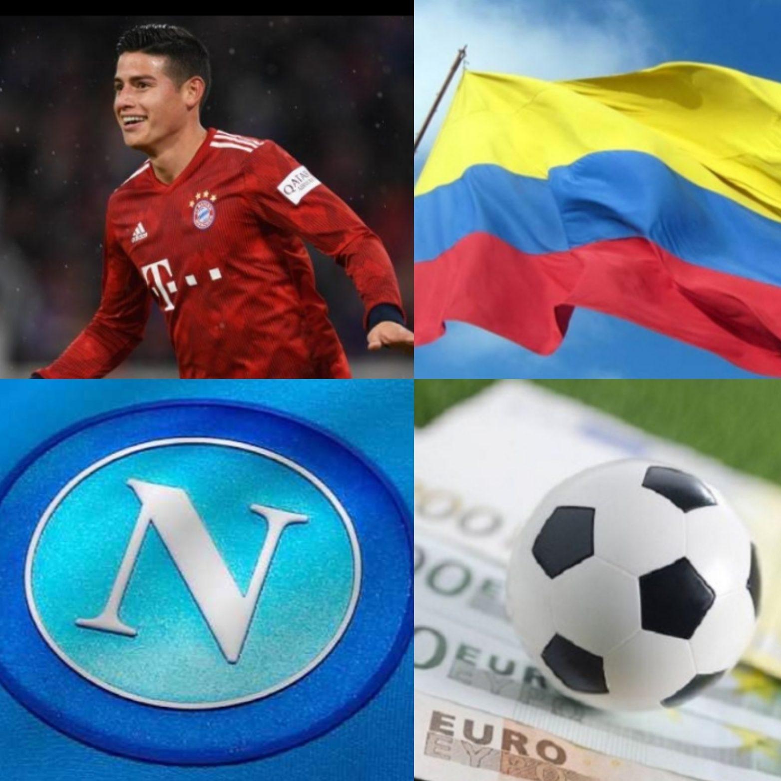 C'è l'intesa col Real, il Napoli avrà James Rodriguez