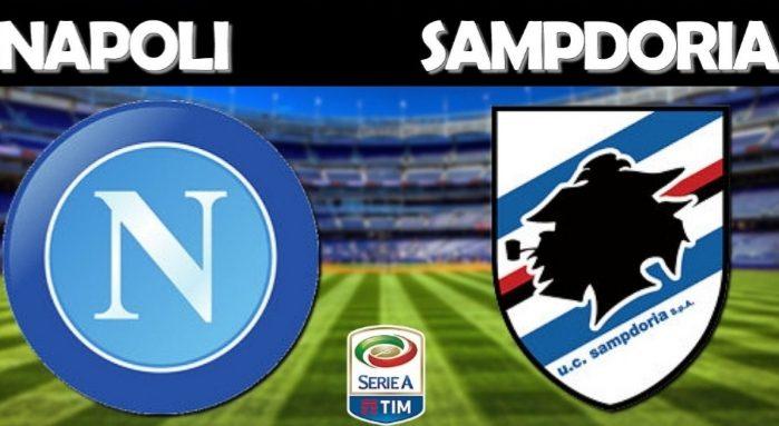 Napoli-Sampdoria, le formazioni ufficiali, fuori Manolas