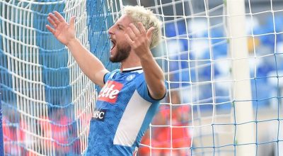 Napoli-Sampdoria 2-0, Mertens è in grande spolvero