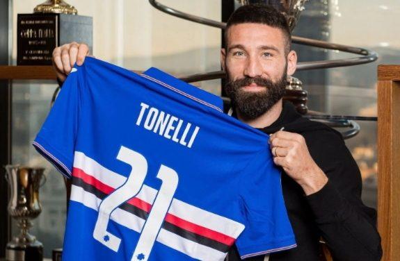 Tonelli lascia il Napoli e torna alla Sampdoria