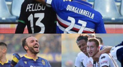 Le gare del pomeriggio, vincono Parma e Verona, pari per la Samp