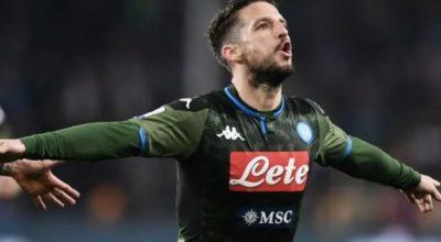 Cagliari-Napoli 0-1, gioiello di Mertens