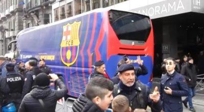Il Barcellona è arrivato in città, domani arbitra Brych