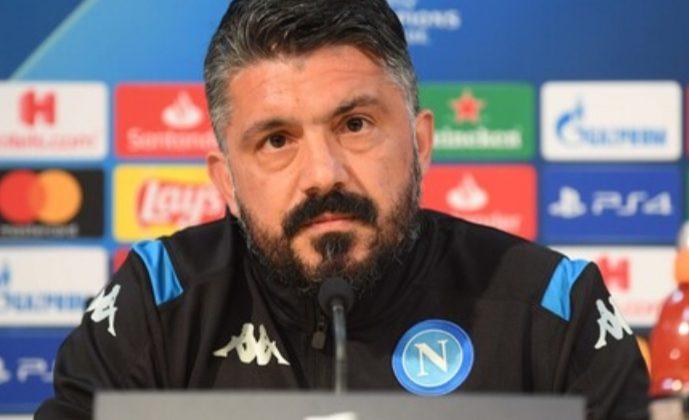 """Gattuso in conferenza: """"Col Barcellona, Napoli a testa alta"""""""