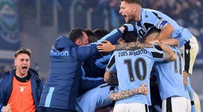 Il posticipo, Lazio da applausi, batte 2-1 l'Inter e la scavalca