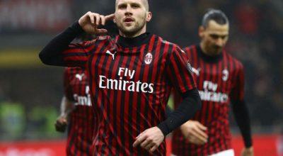 Milan-Torino 1-0, ci pensa Rebic