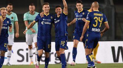Trentunesima, Spal nei guai, Verona-Inter 2-2