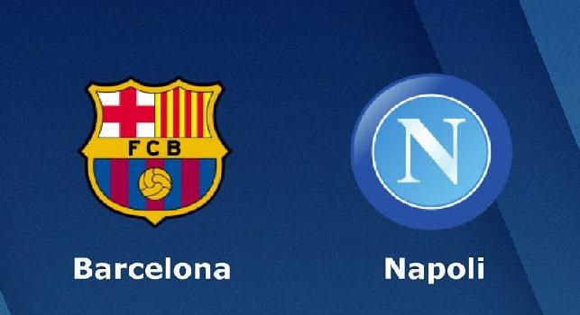 Barcellona-Napoli, si gioca l'8 agosto