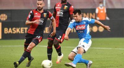 Prova di forza del Napoli: Mertens e Lozano sbancano il campo del Genoa