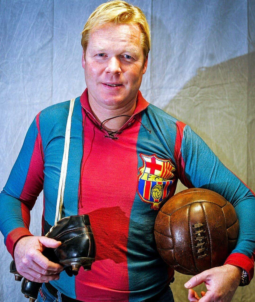 Koeman è il nuovo allenatore del Barcellona