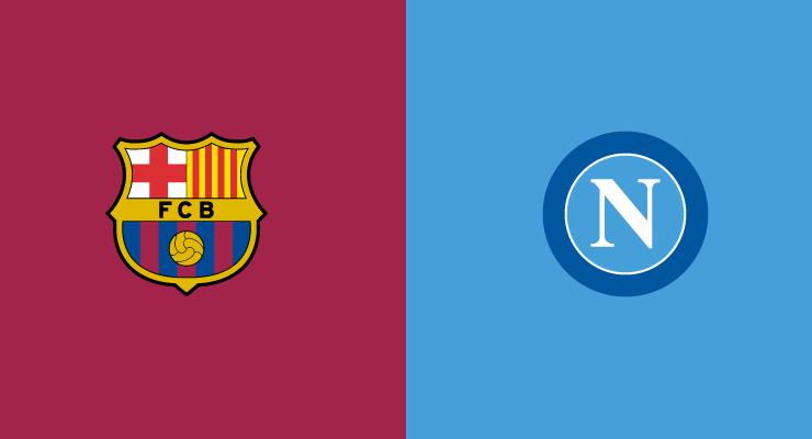 Barcellona-Napoli, le formazioni ufficiali, Insigne c'è