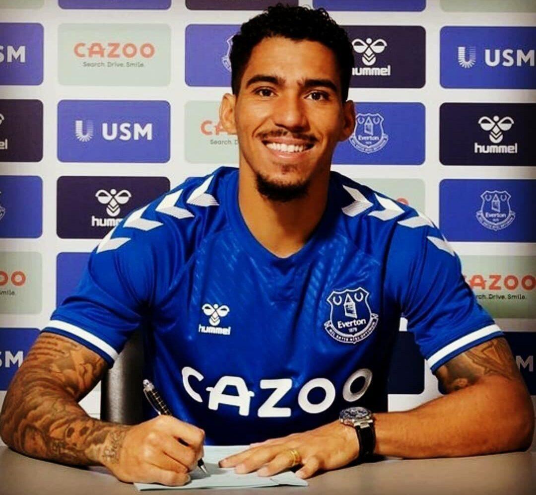 Allan è un giocatore dell'Everton