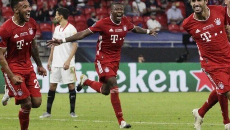 Supercoppa europea al Bayern Monaco, Siviglia battuto ai supplementari