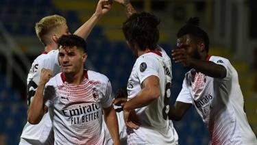 Crotone-Milan 0-2, calabresi a zero punti