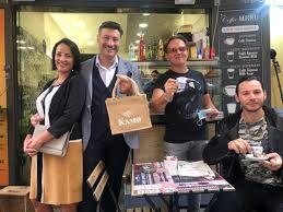"""Caffè Kamo, sostiene il cinema: aroma partenopeo sul set di """"Benvenuti in casa Esposito"""""""
