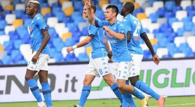 Napoli-Genoa 6-0, show azzurro, doppietta di Lozano