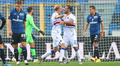 Atalanta-Sampdoria 1-3, la Dea è in crisi