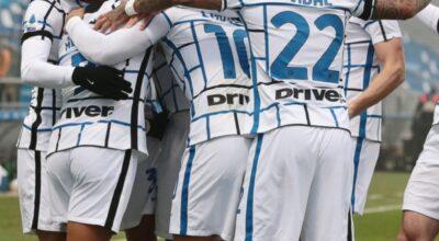 Sassuolo-Inter 0-3, riscatto nerazzurro