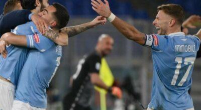 La Lazio travolge la Roma e vince il derby