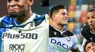 Milan Campione d'inverno ma crolla contro l'Atalanta, pari per l'Inter