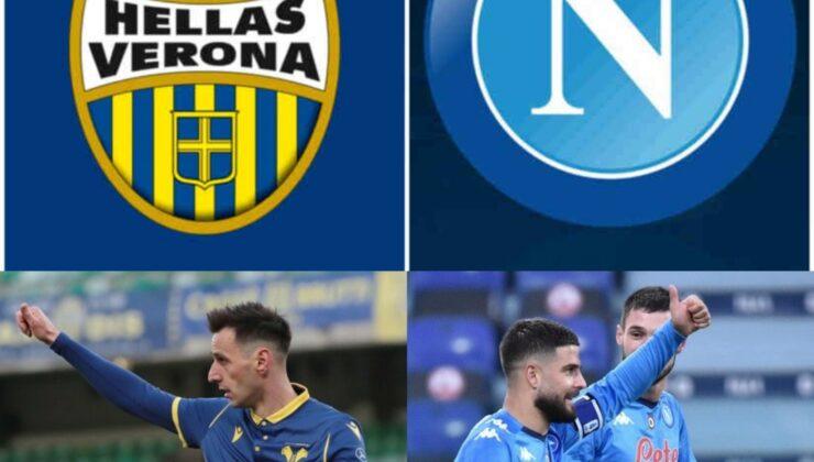 Hellas Verona-Napoli, le formazioni ufficiali, Mertens e Osimhen in panchina