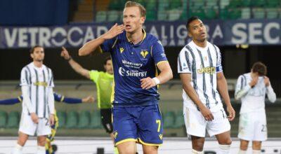 Il Bologna batte la Lazio, il Verona ferma la Juve