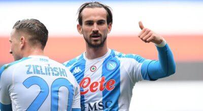 Sampdoria-Napoli 0-2, apre Fabian, raddoppia Osimhen