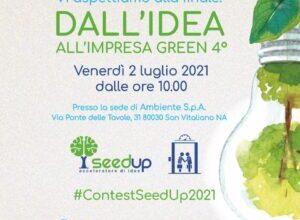 """Startup finaliste del Contest """"Dall'idea all'impresa green 4"""""""