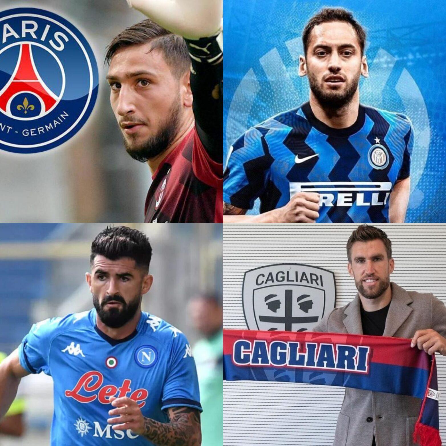 Serie A, acquisti e cessioni ufficiali: Donnarumma, Calhanoglu, Hysaj, Strootman e i nuovi colpi