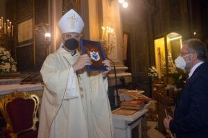L'Arcivescovo Mimmo Battaglia per la prima volta visita la comunità della parrocchia di Santa Brigida