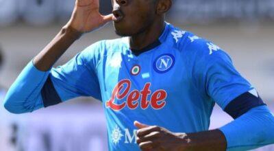 Spezia-Napoli 1-4, uragano Osimhen, la Champions si avvicina