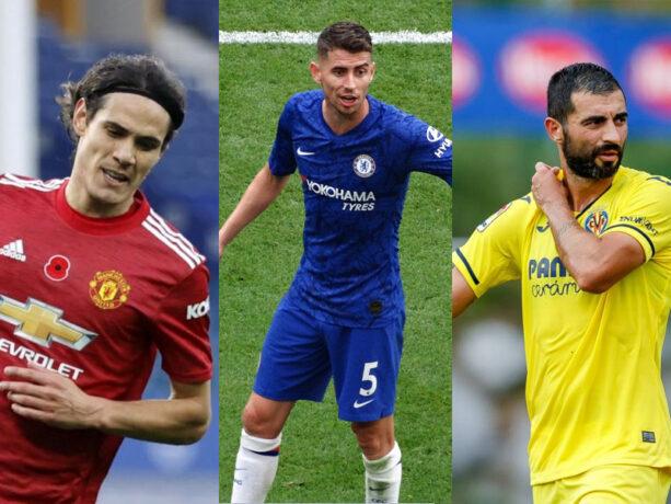 Le finali: City-Chelsea e United-Villarreal. Jorginho, Albiol e Cavani orgoglio Napoli